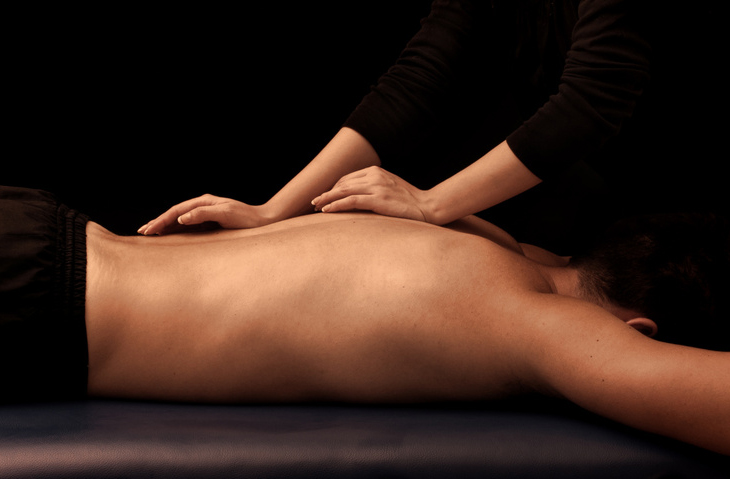 Massage Rücken, Rückenmassage